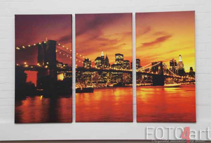 Foto op Canvas New York Brooklyn