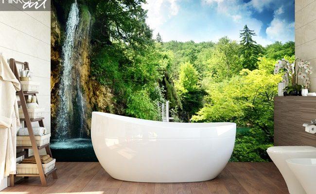 Schitterende badkamer met natuurlijke materialen aart van de pol